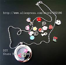 locket necklace aliexpress images Buy floating locket and get free shipping on jpg
