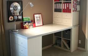 bureau des rangers utilisez des étagères kallax pour tout ranger organisation