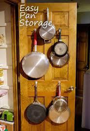 kitchen pan storage ideas easy pan storage on pantry door hometalk