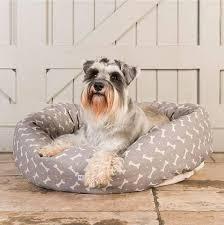 Covered Dog Bed Designer Luxury Dog Bed Super Soft Donut Dog Bed Made In