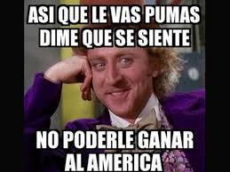 Memes De America Vs Pumas - los 15 mejores memes que dejó el triunfo de américa ante pumas as