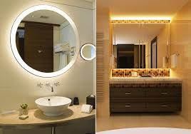 Design Ideas For Brushed Nickel Bathroom Mirror Peachy Design Ideas Bathroom Vanity Mirrors Selecting A Mirror