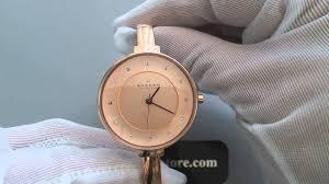 ladies bangle bracelet watches images Women 39 s rose gold skagen gitte bangle bracelet watch skw2230 jpg