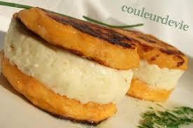cuisiner la patate douce macarons de patate douce à la mousse de comté paperblog
