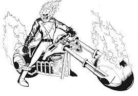 ghost rider coloring book free download