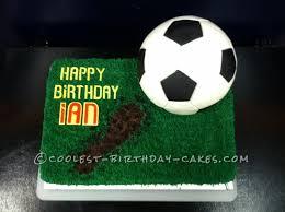 soccer cake coolest soccer cake