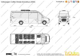 volkswagen bus drawing the blueprints com vector drawing volkswagen crafter strada