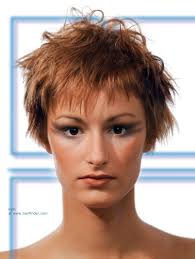 gamine hairstyles for mature women short gamine haircut with choppy layering and razor cut edges