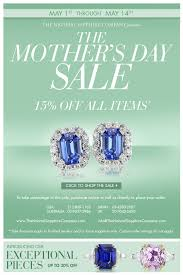 mothers day jewelry sale sapphire day sale ad the sapphire company