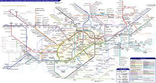 Green Line Map Unofficial London Underground Overground Dlr And Elizabeth Line