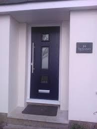 exterior design simple black composite front door design with