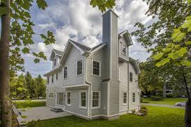 Classic Colonial Homes by Classic Center Hall Colonial On Flat Quarter Acre New York