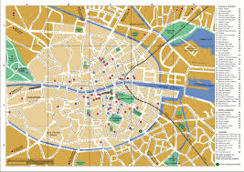 National Zoo Map Map Of Dublin Map Dublin City Ireland