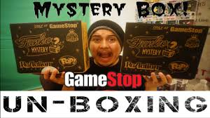 gamestop black friday 2016 gamestop funko mystery box black friday exclusive unboxing youtube