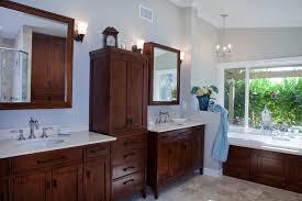 Bathroom Furniture Sink Custom Bathroom Cabinets Curved Sinks Two Level Vessel Sinks