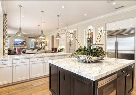 high end kitchen islands family home with coastal transitional interiors contemporary