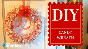 candy wreath make an easy christmas candy wreath