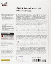 ccna security 640 554 official cert guide keith barker scott
