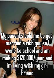 Rich Guy Meme - my parents told me to get married a rich guy so i went to school and