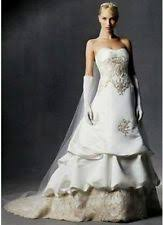 oleg cassini wedding dress oleg cassini strapless wedding dresses ebay