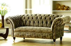 Fabric Chesterfield Sofa Fabric Chesterfield Sofa Adrop Me