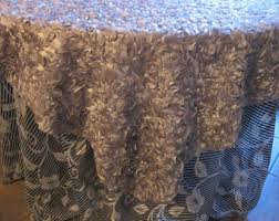 Lace Table Overlays Lace Table Overlay Etsy