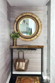Entry Shelf Shelves Shelf Organizer Horizontal Mirror With Shelf In A Sleek