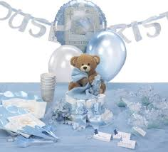 Centerpieces For Baptism For A Boy by Hydrangea Christening Decorations Teddy Bear Themed Baptism