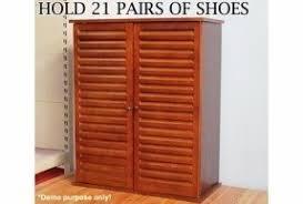 Oak Shoe Storage Cabinet Oak Shoe Cabinet Foter