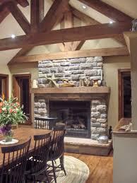 fireplace with glass rocks fireplace ideas