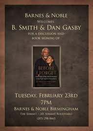 Barnes And Noble In Cincinnati Ohio B Smith And Dan Gasby Discussion And Book Signing Presented By