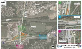 Modot Road Conditions Map Route 141 At I 44 Design Build
