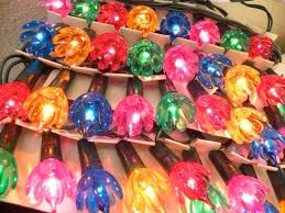 vintage christmas lights xmas lights la boutique vintage