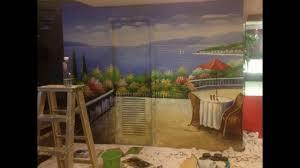mediterranean italian landscapes wall murals hand painted youtube mediterranean italian landscapes wall murals hand painted