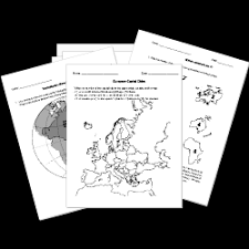 sixth grade grade 6 geography questions for tests and worksheets