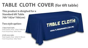 6ft Table Cloth by Table Cloth Cover