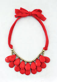 fashion jewelry red necklace images Anthropologie inspired red necklace by shamelesslysparkly 9 90 jpg
