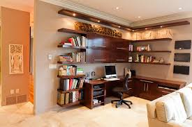 Custom Desks For Home Office Custom Desk Contemporary Home Office Edmonton By Habitat
