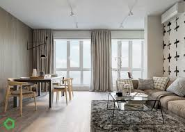 relaxing color schemes in 3 efficient single bedroom apartments