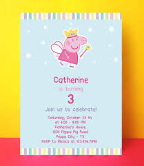 best 25 peppa pig birthday invitations ideas on pinterest peppa