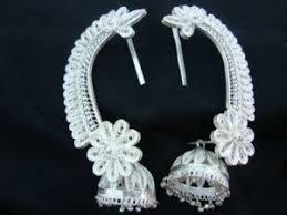 silver filigree odissi ornaments shopping india