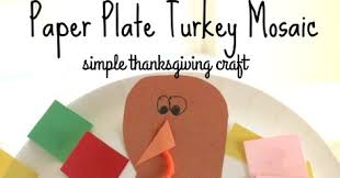 simple paper plate turkey craft for school time snippets
