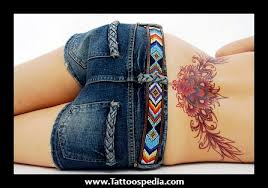 cute lower back tattoos