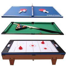 4 In 1 Game Table 4 In One Pool Table Costway 4 In 1 Multi Game Air Hockey Tennis