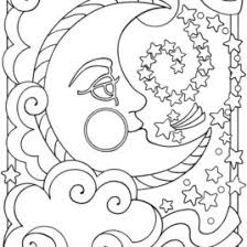 moon coloring pages for kids moon coloring sheets moon coloring