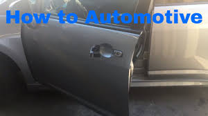 nissan altima 2005 door handle silver how to replace the front outer door handle and lock cylinder on a