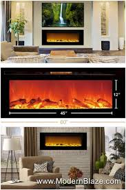 Recessed Electric Fireplace Touchstone The Sideline 60