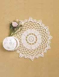 Crochet Halloween Garland Pear Blossoms Crochet Doily Favecrafts Com