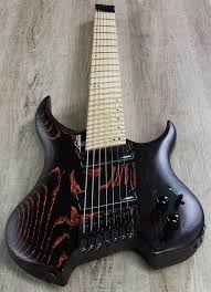 fanned fret 7 string legator ghfb7 ghost bolt on fanned fret 7 string electric guitar