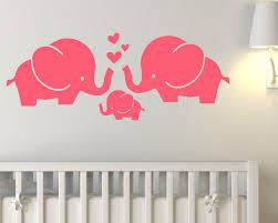 Elephant Wall Decals Nursery by Vinyl Wall Stickers Vinyl Wall Art Decals Tree Animal